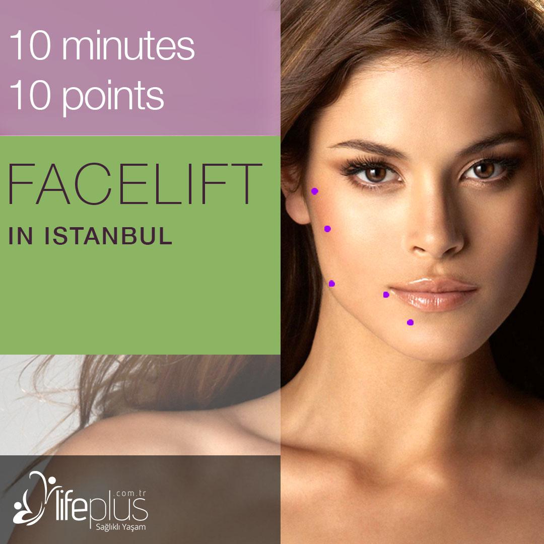 10 points 10 minutes facelift